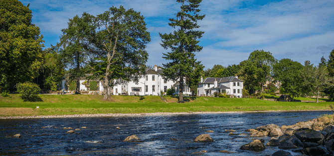 pesca in Scozia Banchory lodge