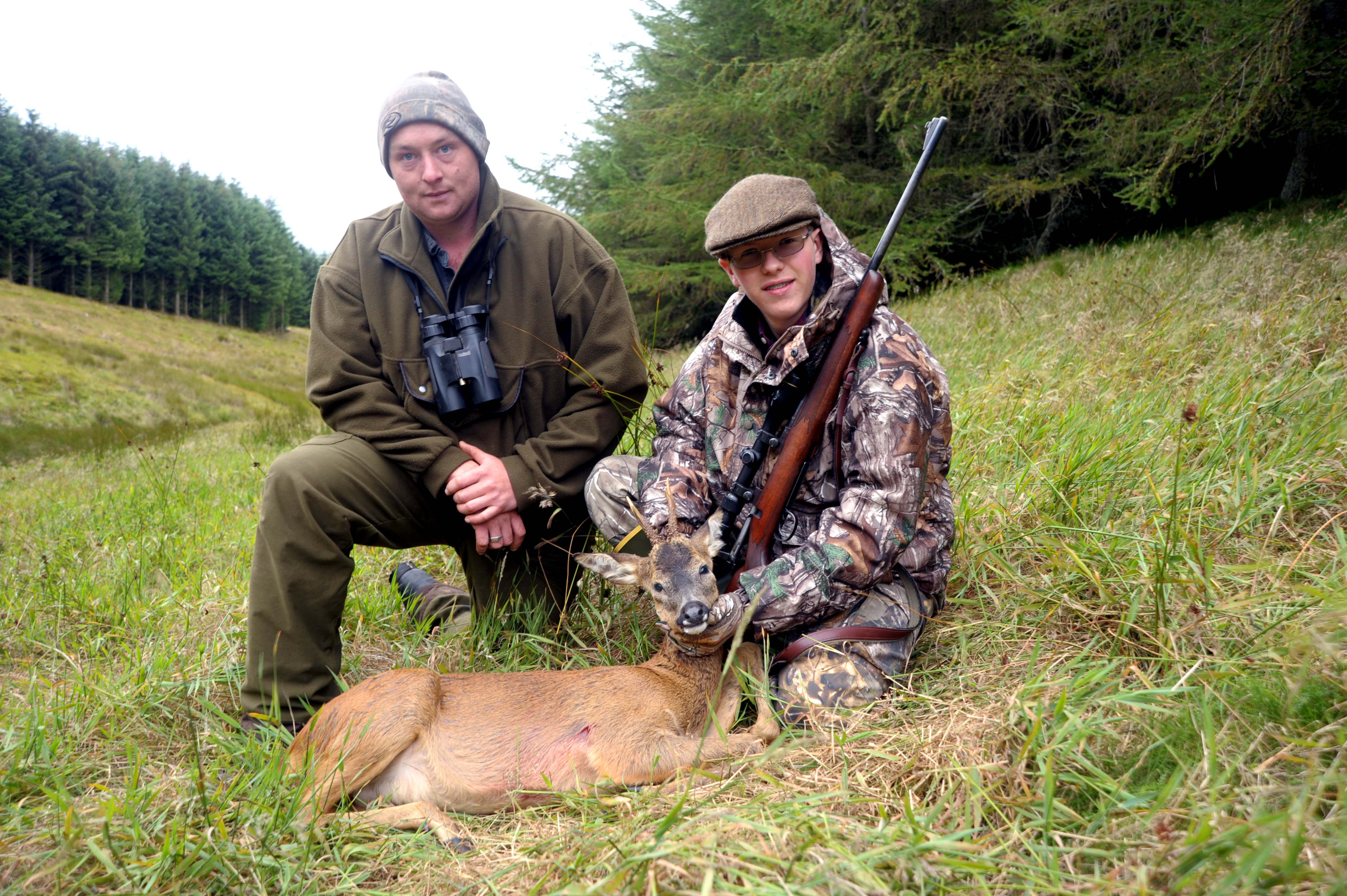 Affordable hunting and fishing in scotland for Green top hunting and fishing