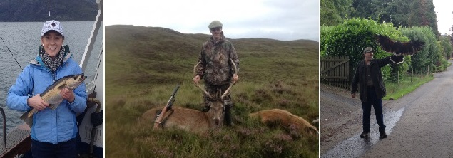hunting in scotland