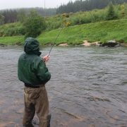 summer holiday in scotland first ever salmon