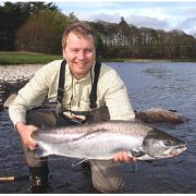salmon fishing river dee