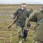wing bird shooting Scotland