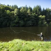 summer fishing in Scotland