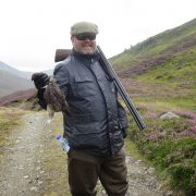 Scottish highland grouse hunting