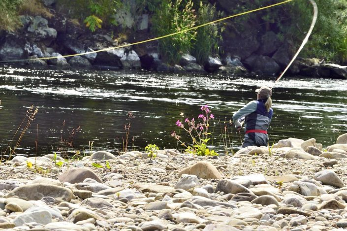 summer fishing vacations in Scotland
