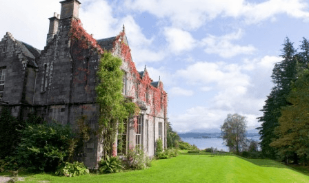 best riverside hotels in Scotland ardanaiseig
