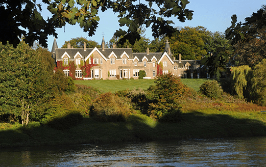 best riverside hotels in Scotland ballathie house hotel