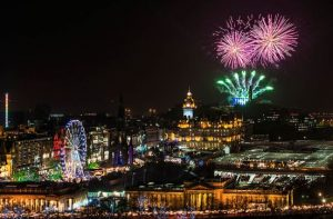 hogmanay 2019 in Edinburgh