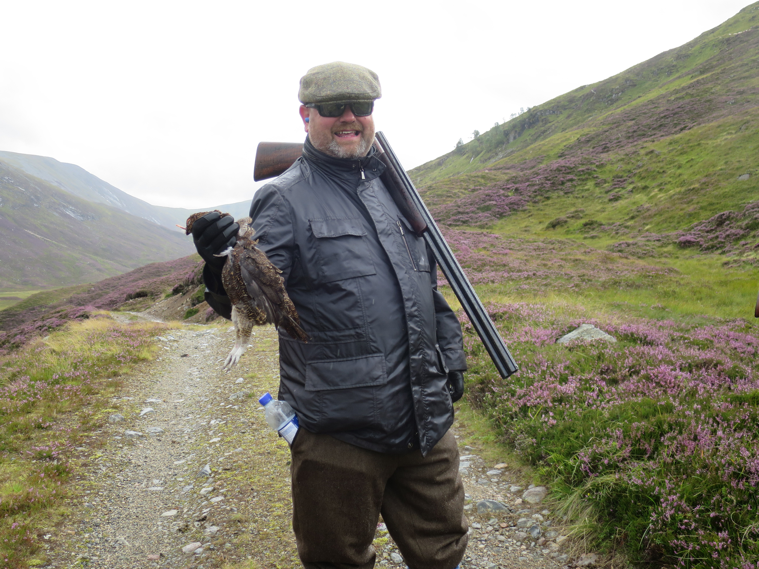 wing shooting in Scotland grouse walked
