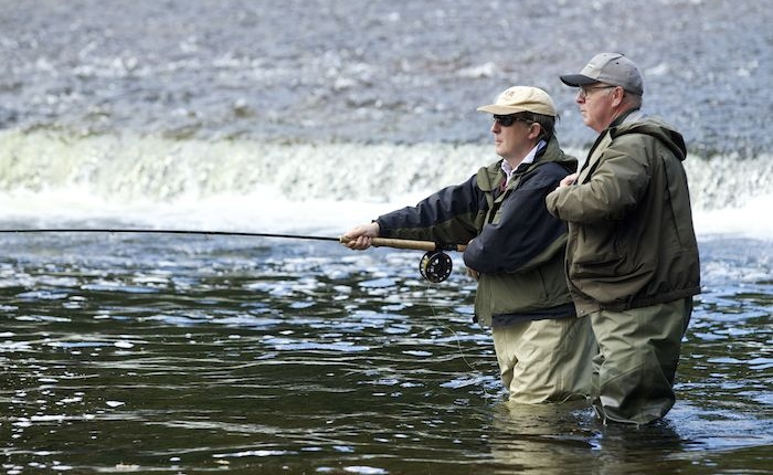 chauffeur driven fishing tour of Scotland