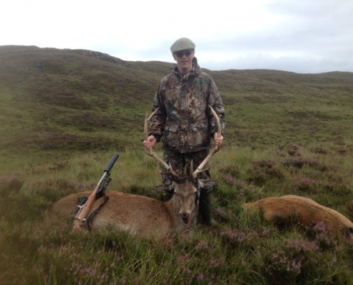 stag hunting tour Scotland