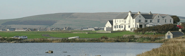 pesca in Scozia merkister hotel