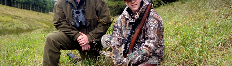 roe buck stalking Scottish borders