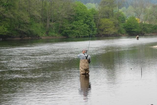 salmon fishing in Scotland 2016