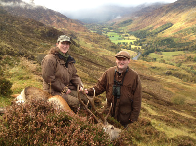 deer hunting in scotland 2016