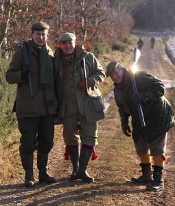 luxurious Scottish shooting
