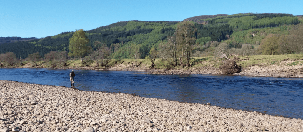 Salmon fishing on the River Tay 3