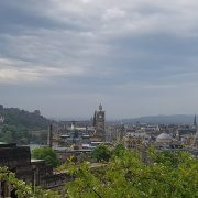 summer holiday in scotland ediburgh view