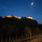 summer holiday in scotland edinburgh castle