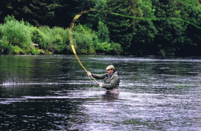 Fishing package in Scotland