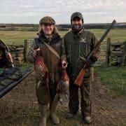 pheasant hunting highlands Scotland