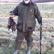 mixed bag shooting Scottish highlands