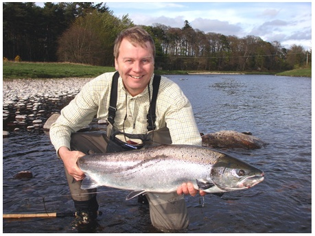 salmon fishing river dee