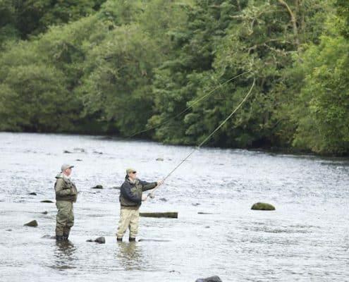 salmon fishing in scotland