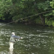 fly fishing salmon Scotland