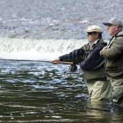 salmon fishing lessons Scotland