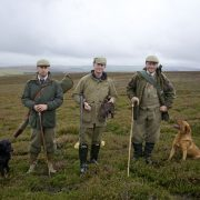 grouse wing shooting in Scotland