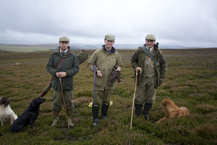 grouse hunting and deer hunting tour of Scotland