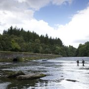 spring Scottish salmon fishing
