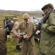 grouse hunting scotland highlands