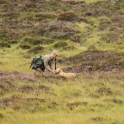 shooting in the Scottish highlands