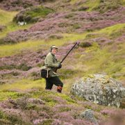 Scottish highlands hunting