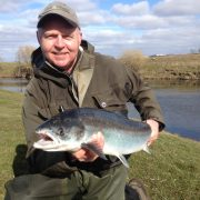 salmon fishing river tweed
