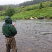 autumn fly fishing in Scotland
