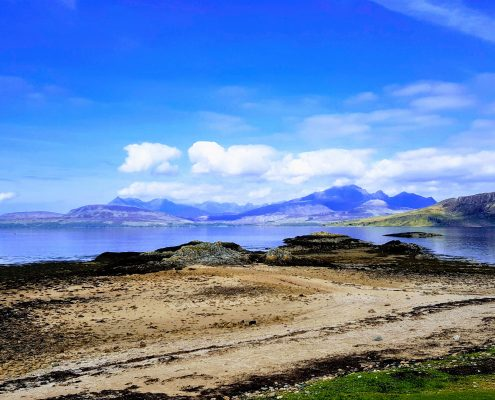 summer vacation in Scotland
