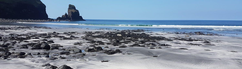 beach vacation 2018 Scotland