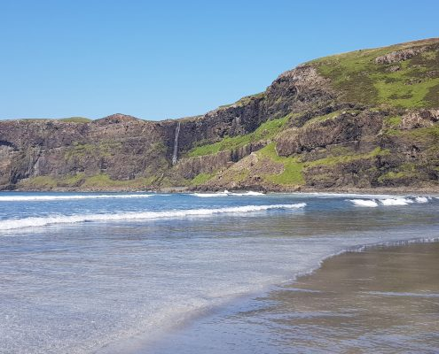 scotland vacation talisker beach