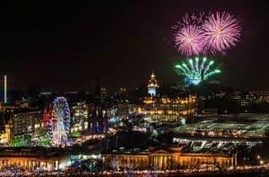 hogmanay 2019 in Edinburgh