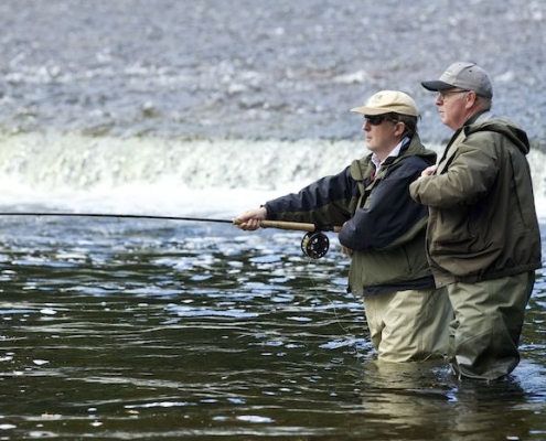 chauffeur driven fishing tour of Scotland