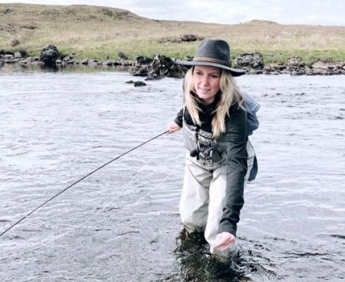 trout season on the river Gaur