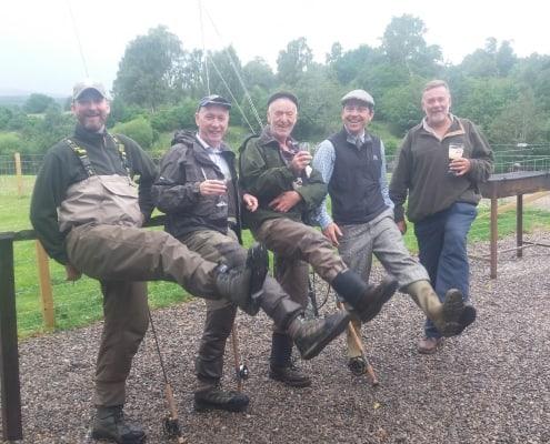 golf and salmon fishing tour of Scotland