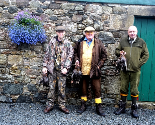 Scottish New year 2020 upland hunting