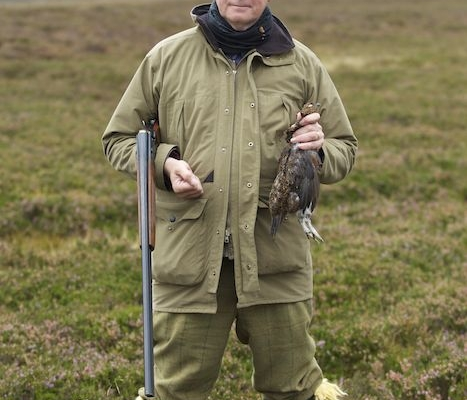 wingshooting for grouse in Scotland