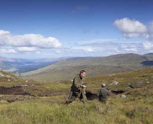 Scottish New Year hunting trip
