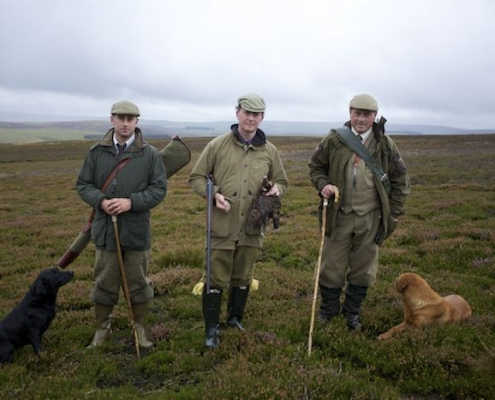 Scottish new year upland hunting