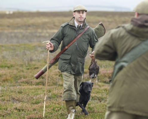 Scotland highland shooting